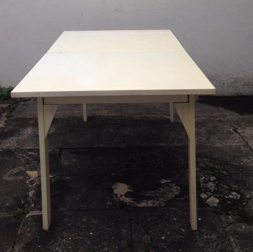 mesa de madera desarmable