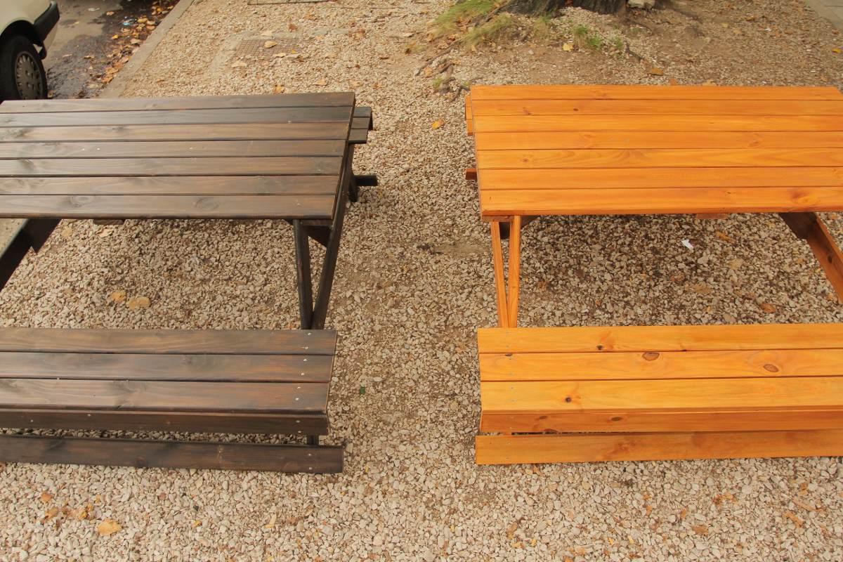 Mesas rusticas de comedor mesas rusticas de madera mesas - Mesas de campo ...