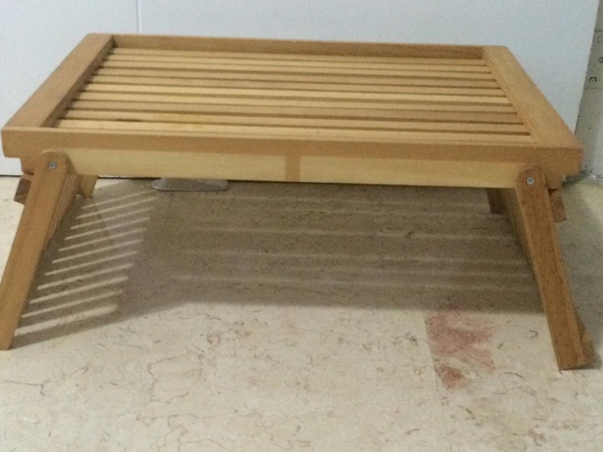 Mesa de madera para comer en la cama bs en - Mesitas para desayunar en la cama ...