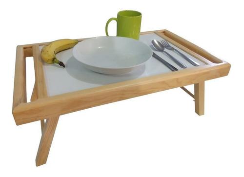 mesa de madera para servicio en cama - rehabilitación