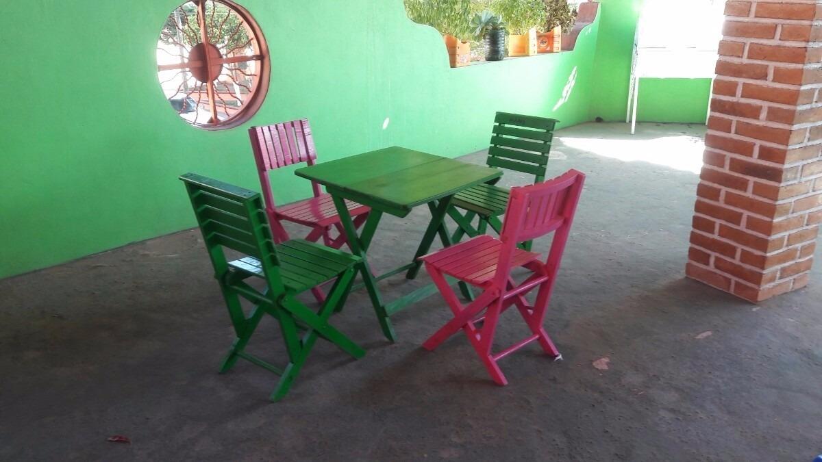 Mesa De Madera Plegable Para Comedor - $ 750.00 en Mercado Libre