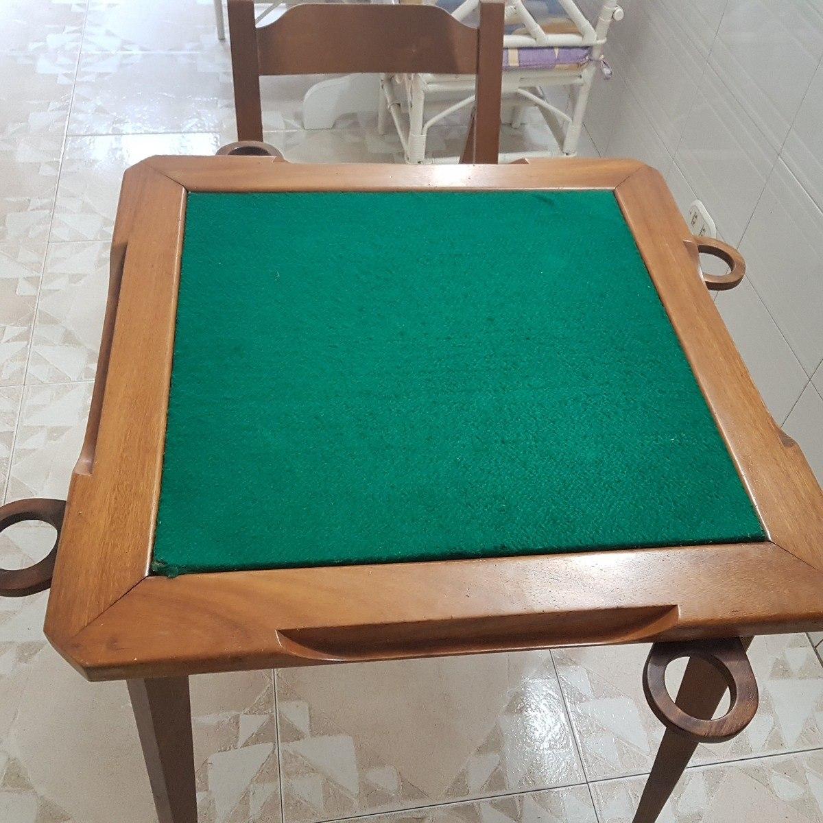 Mesa de madera plegable para jugar domino con sus 4 sillas bs en mercado libre - Mesas plegables de pared ...