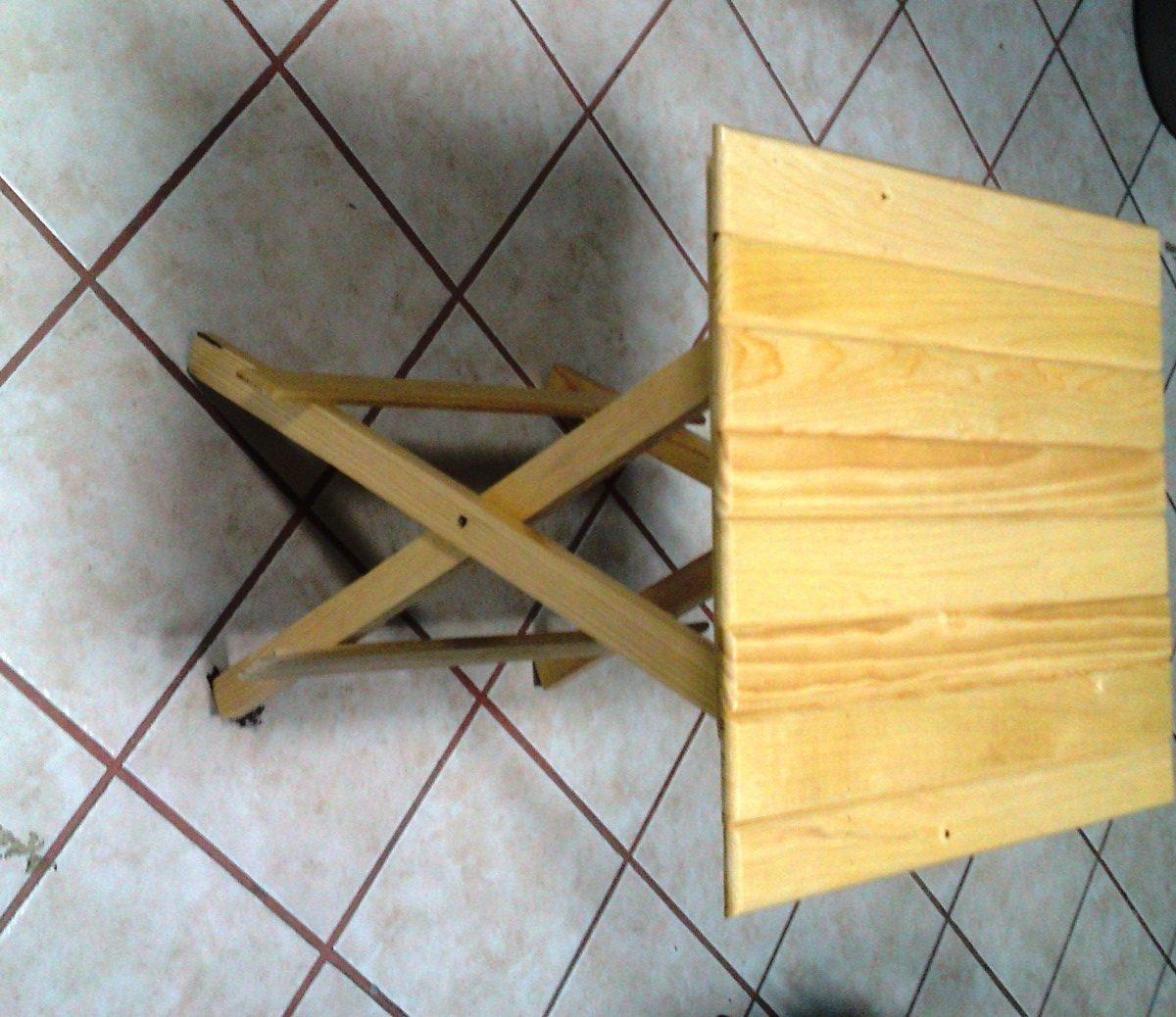 Mesa de madera plegable portatil jardin o terraza 299 - Mesas de madera plegables para exterior ...
