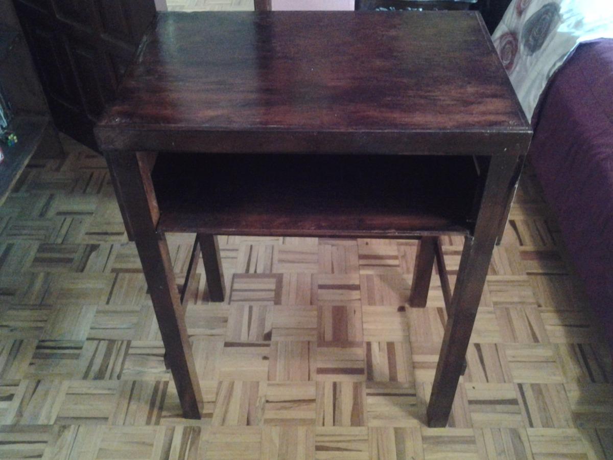 Mesa de madera precio fijo u s 20 00 en mercado libre for Mesas de madera precios