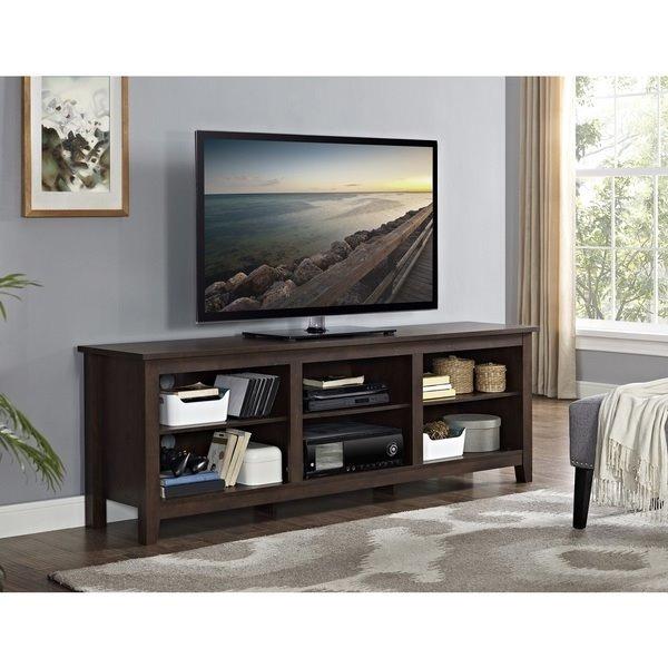 Mesa de madera solida mueble para tv modelo consola for Modelos de muebles para tv