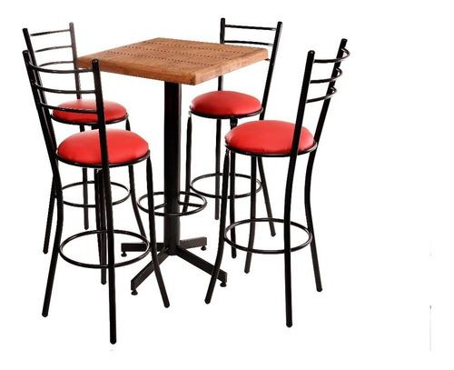 mesa de madera y sillas restaurante bar cafetería lounge