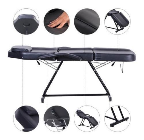 mesa de masaje ajustable salón de belleza silla terapia spa