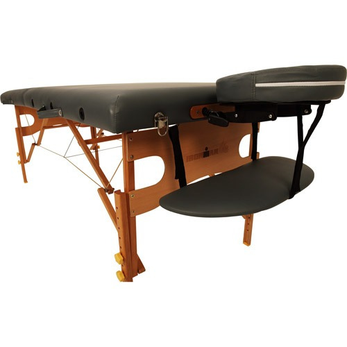 mesa de masaje ironman dakota, gris oscuro