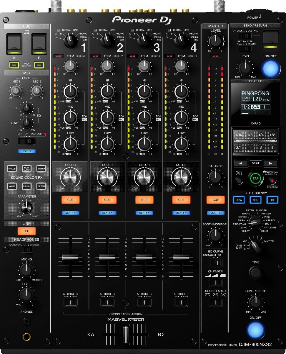 Mesa De Mezclas Digital Prof 4 Canales Pioneer Djm 900nxs2