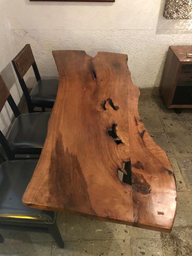 mesa de mezquite 200cm