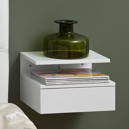 mesa de noche diseño moderno flotante ref: flumalia