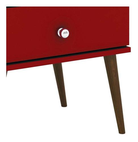 mesa de noche madera lacada ref: falak