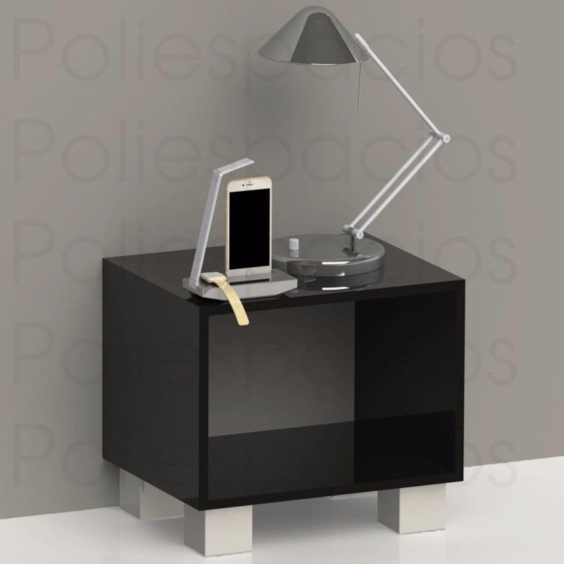 Mesa de noche minimalista moderna de lujo decoraci n for Mesas de noche plateadas