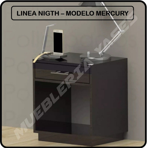 mesa de noche minimalista moderna model mercury iphone s3 s4
