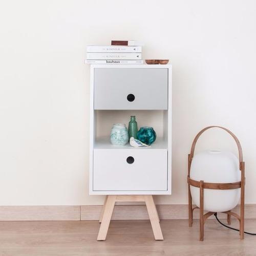 mesa de noche moderna minimalista mn-e-001