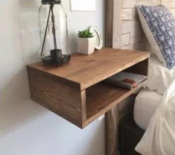 Mesa de noche moderna minimalista repisa a rea bs for Minimal art vzla