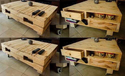 mesa de pallets, muebles palets  sillon esquinero a medida