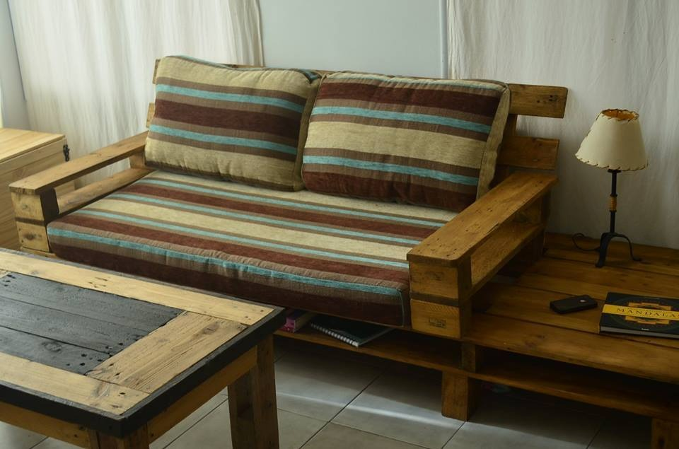 4 mesa de pallets muebles palets - Muebles De Palets