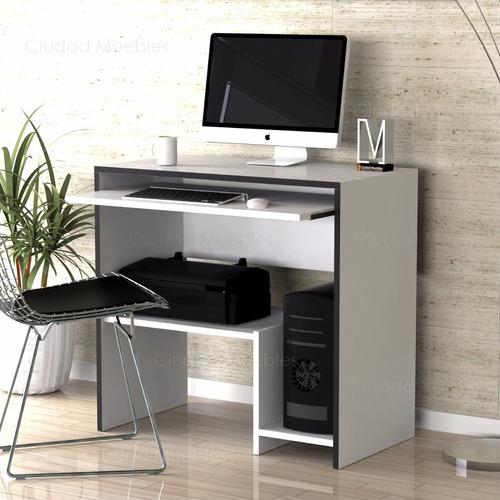 mesa de pc - computadora - escritorio de diseño. unico!!!