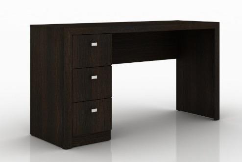 mesa de pc escritório reta pequena consultório gavetas me 02