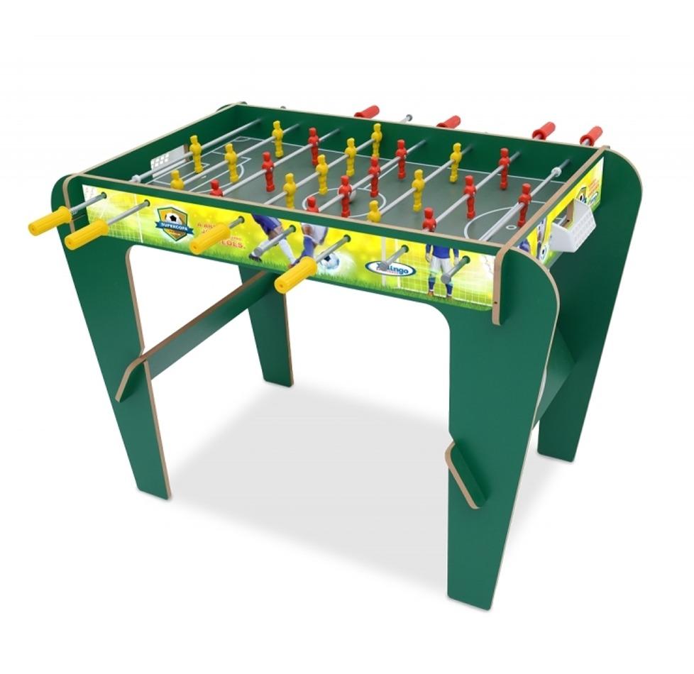 Mesa de pebolim infantil futebol super copa xalingo r for Super copo