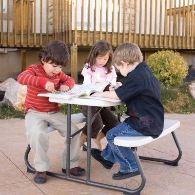 mesa de picnic lifetime infantil envío gratis