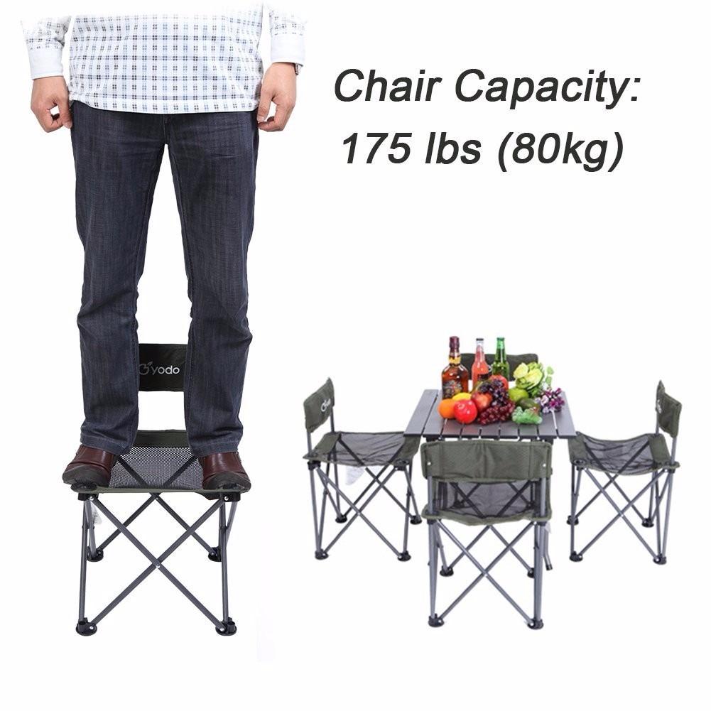 mesa de picnic y juego de sillas para 4 personas 3 299