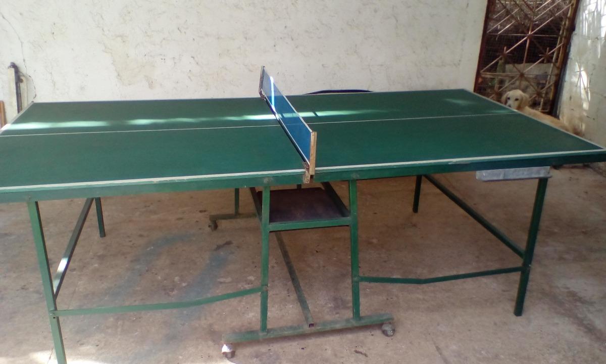 Mesa De Pin Pong Casera Bs 150 00 En Mercado Libre