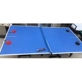 Mesa De Ping Pong + 2 Paletas Pro Y 8 Pelotitas