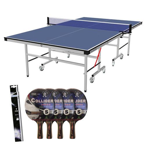 mesa de ping pong almar c18 con accesorios | combo n°3