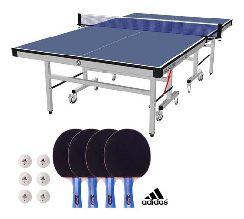 mesa de ping pong almar c25 con accesorios | combo n° 2