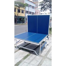 Mesa De Ping Pong De 18 Mm Envío A Provincia