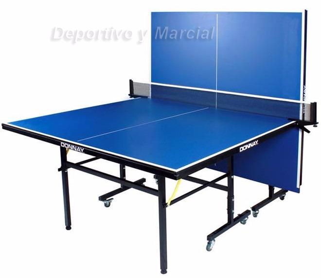 7a7551c23 Mesa De Ping Pong Donnay Tt6000 + Red + Soportes Plegable 16 ...