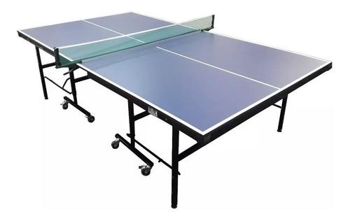 mesa de ping pong f18 plegable fronton reglamentaria competi