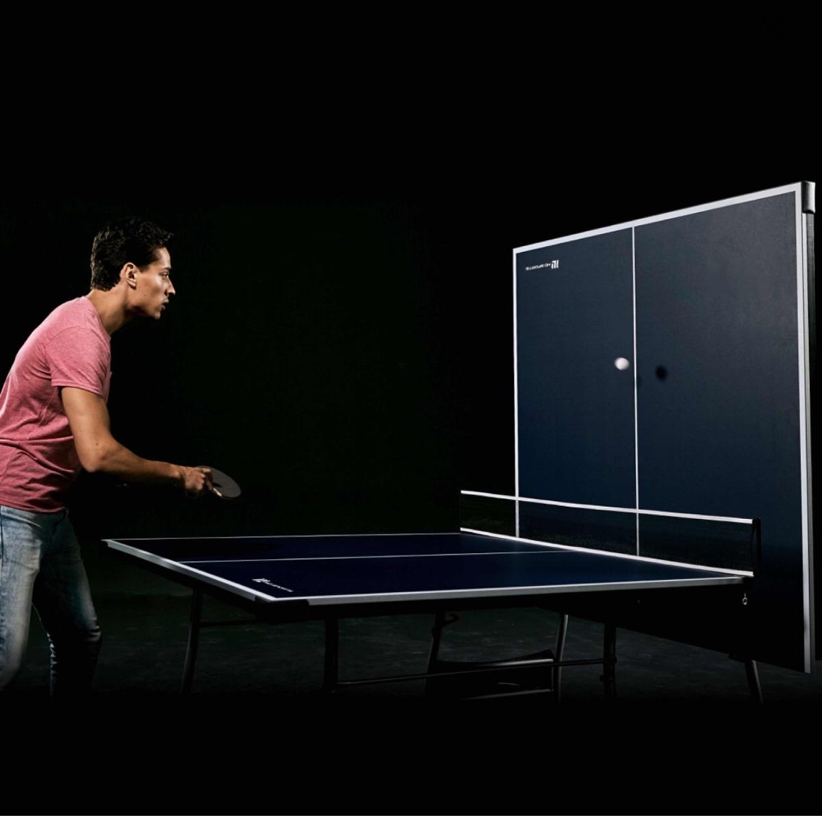 f64016385 mesa de ping pong md sports tamaño oficial. azul-blanco. Cargando zoom.