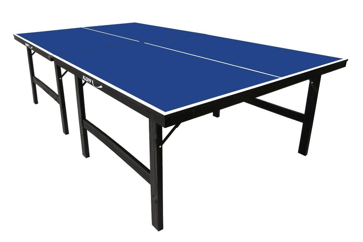 Mesa de ping pong mdf 15mm klopf 1016 oficial kit for Mesa ping pong carrefour