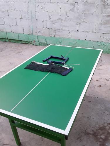 mesa de ping pong mediana