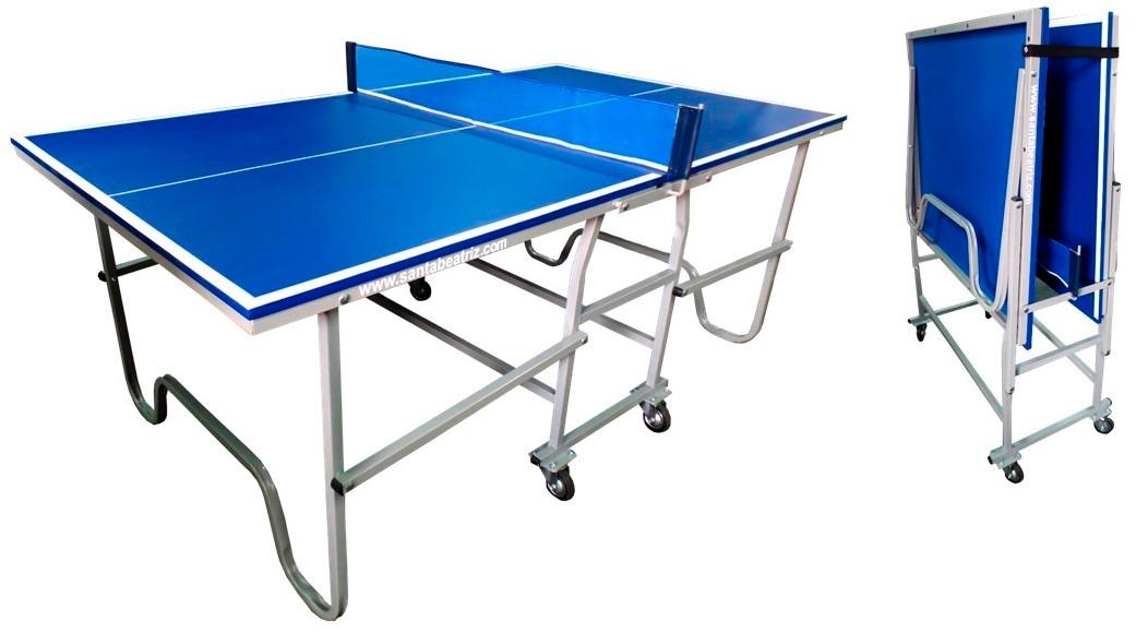 Mesa de ping pong port til para espacios reducidos s 1 - Mesas para espacios pequenos ...