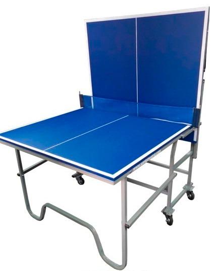 Mesa de ping pong port til para espacios reducidos s 1 for Mesas ordenador para espacios pequenos