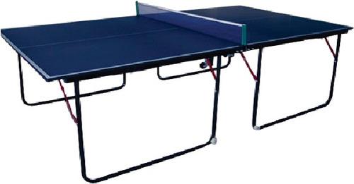 mesa de ping pong sport fitness plegable mdf 12mm + raquetas