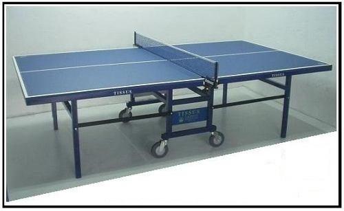 mesa de ping pong tissus mod majesty prof plegable c/ ruedas