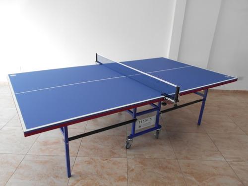 mesa de ping pong tissus tango con accesorios de regalo
