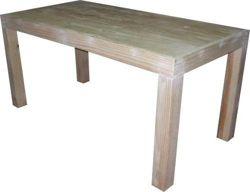 mesa de pino modelo asia patas 3x3 envio gratis zona 3 febre