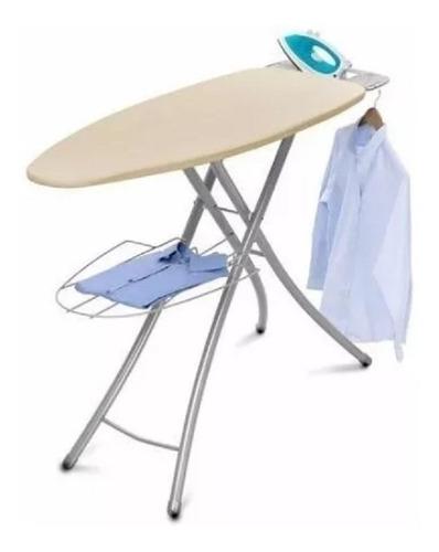 mesa de planchar americana en acero inoxidable profesional