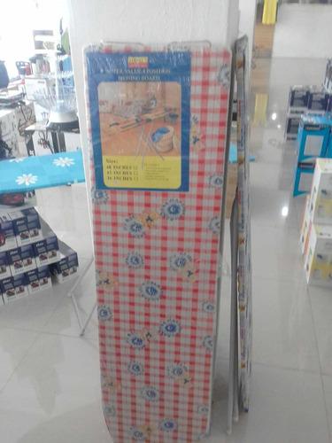 mesa de planchar con soporte para plancha