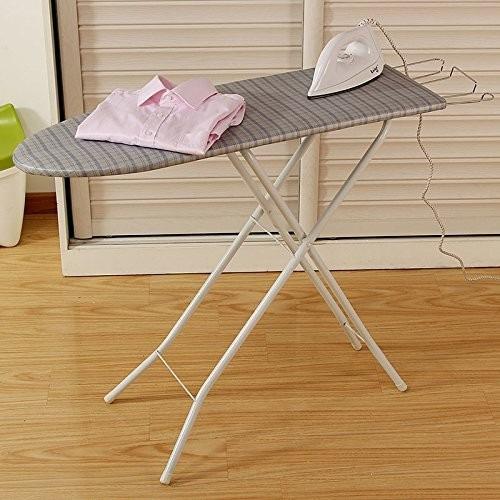 mesa de planchar con soporte para plancha de 4 niveles