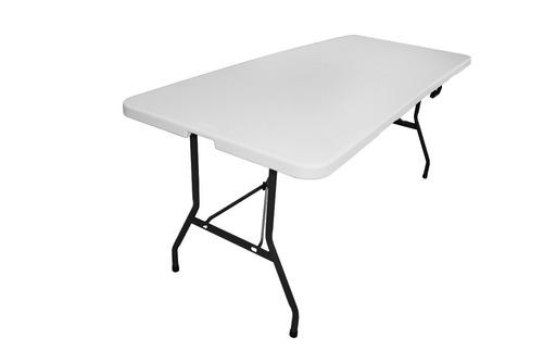 mesa de plástico plegable 1.82 mts (tablón portafolio 182cm)