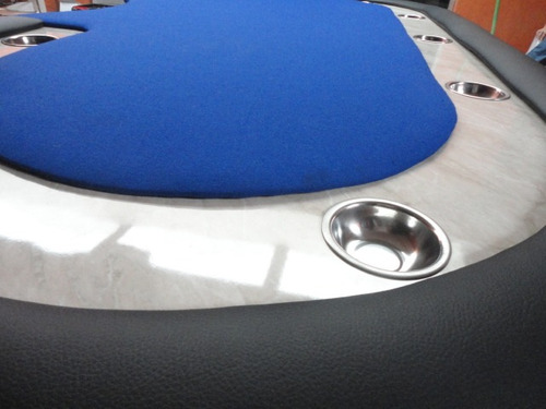 mesa de poker elegante !! blue sky !!