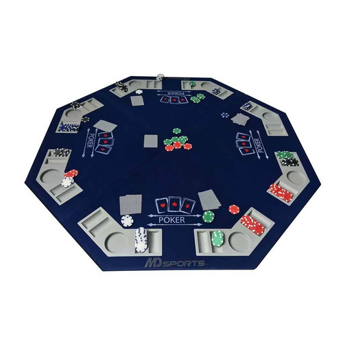 mesa de poker md sports plegable