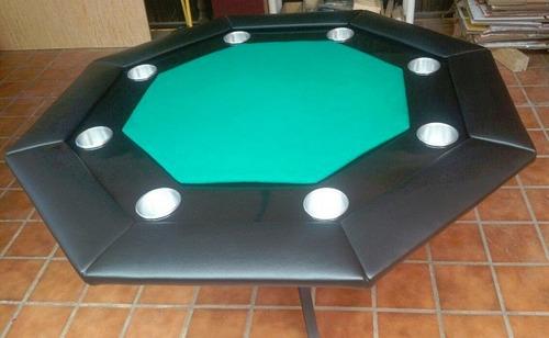 mesa de poker octagonal
